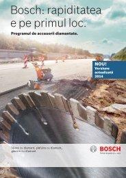 Bosch: rapiditatea e pe primul loc.