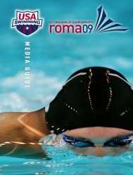 2009 U.S. FINA World Championships (Rome) - USA Swimming