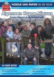 Algemeen Kapoe Nieuws - Wijktijgers