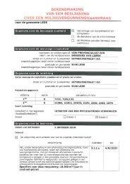 PDF Beslissing milieuvergunning (klasse 2): vzw ... - Gemeente Lede