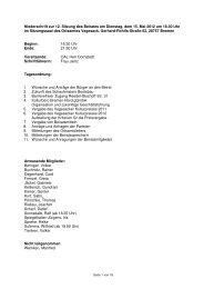 2012-05-15 12. Sitzung - Ortsamt Vegesack - Bremen