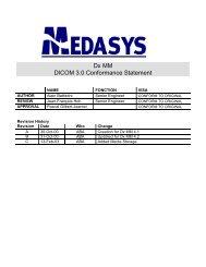 DxMM DICOM Conformance Statement