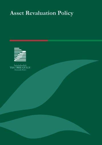 Asset Revaluation Policy - City of Tea Tree Gully - SA.Gov.au