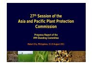Progress Report of the Standing Committee on Integrated Pest ...