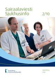Sairaalaviesti 2/2010 - Kunnat.net