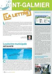 La Lettre N° 4 - Site officiel - Mairie de Saint-Galmier