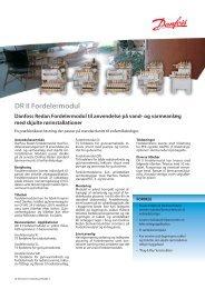 DR II Fordelermodul - Danfoss Redan A/S