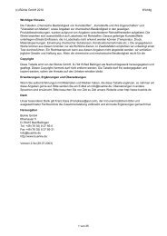 Chemische Beständigkeit von Kunststoffen - Bürkle GmbH