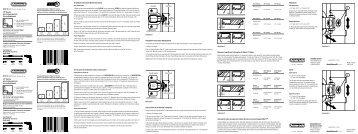 Installation Instructions (New Construction) Installation ... - Amerock