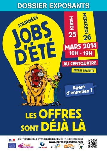Journees Jobs d'ete 2014