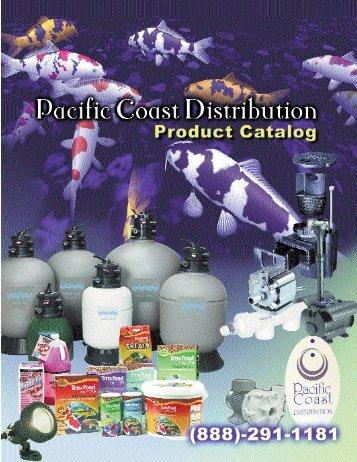 2008 Catalog J:2008 Catalog J.qxd - Pacific Coast Distribution