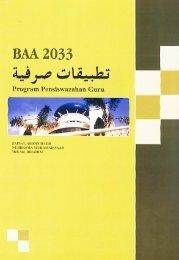 BAA 2033 - USIM - Universiti Sains Islam Malaysia