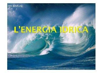 energia idrica - icsfogazzaro.it