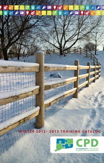 winter 2012- 2013 trAininG CAtALOG - Connecticut Association of ...