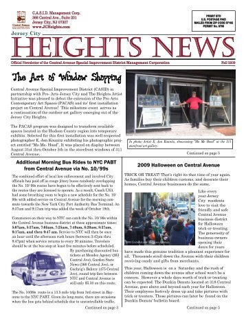 Fall 2009 Heights News (PDF) - Central Avenue Special ...