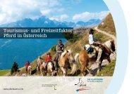 Tourismus- und Freizeitfaktor Pferd in Österreich