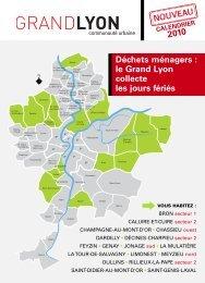 Déchets ménagers : le Grand Lyon collecte les jours ... - Ville d'Oullins