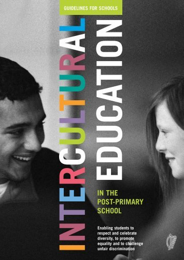 Intercultural Education in the Post-Primary School - National Council ...