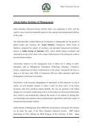 ETHICS AWARENESS SURVEY - Indira Institutes
