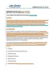 AR 5110-01 Employee ID Card Procedures - LBCC Paperless Office ...