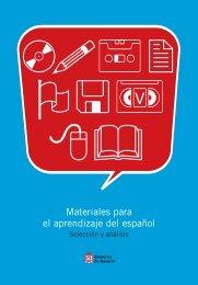 Materiales para el aprendizaje del Español. Selección y ... - Navarra