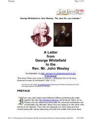 letter to john wesley.pdf - Shattering Denial