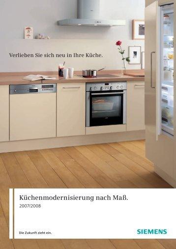 Küchenmodernisierung nach Maß. - Siemens Hausgeräte