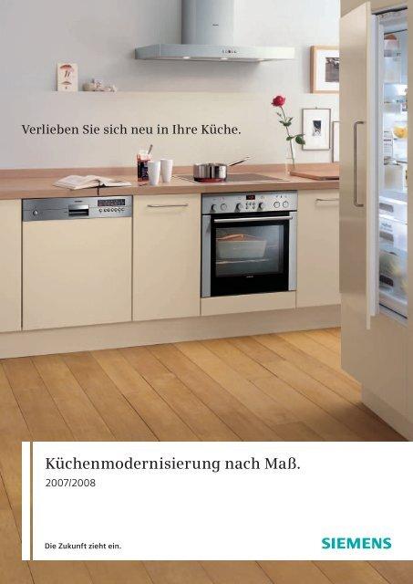 Küchenmodernisierung Nach Maß Siemens Hausgeräte