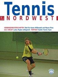 Nr. 1·2011 - Tennisverband NORDWEST eV