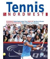 Tennis NORDWEST 2-2008 - Tennisverband NORDWEST eV