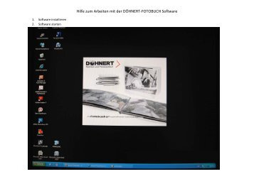 Hilfe zum Erstellen von Fotobuechern.pdf - Doehnert-bilderrahmen ...
