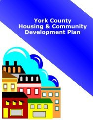 Housing & Community Development Plan - York County Planning ...