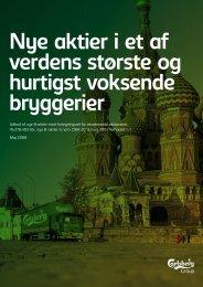 15. maj 2008 - Carlsberg Group