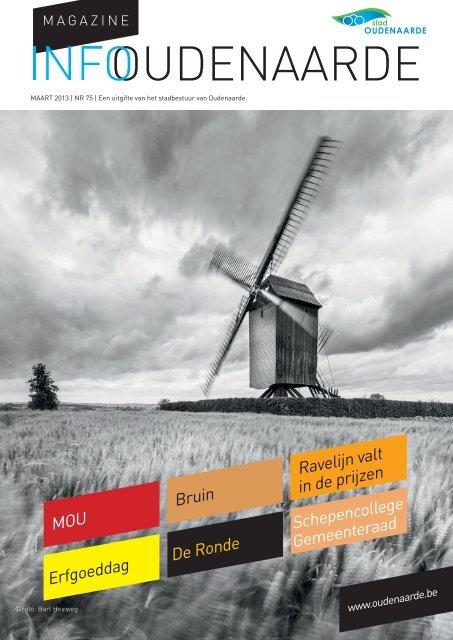 'Infomagazine' vanaf 2013 - Stad Oudenaarde
