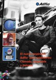 El nuevo respirador Adflo® para soldadores: Cómodo ... - dpiaca