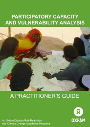Participatory Capacity and Vulnerability Analysis: A ... - Africa Adapt