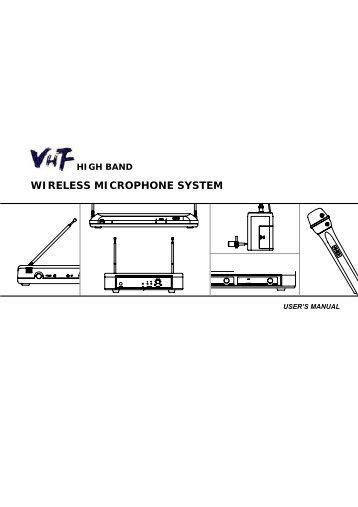 wireless microphone diagram