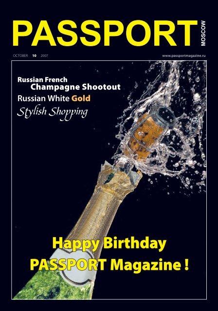 Happy Birthday PASSPORT Magazine !