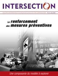 Intersection, no 26, juillet 2004 - Ministère de la Sécurité publique