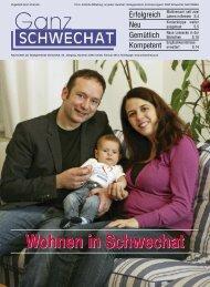 Wohnen in Schwechat - Stadtgemeinde Schwechat