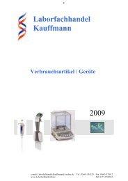 Laborfachhandel Kauffmann 2009