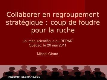 Présentation M. Michel Girard - Repar