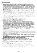 BROTBACK AUTOMAT BEDIENUNGSANLEITUNG - Superior - Seite 6