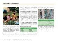 Flechten mit Naturmaterial - Sichere Kita
