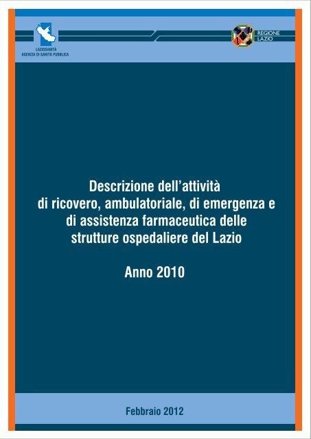 continua - Agenzia di Sanità Pubblica della Regione Lazio