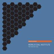 WORLD COAL INSTITUTE - pulse