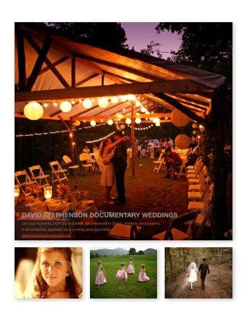 wedding brochure - David Stephenson