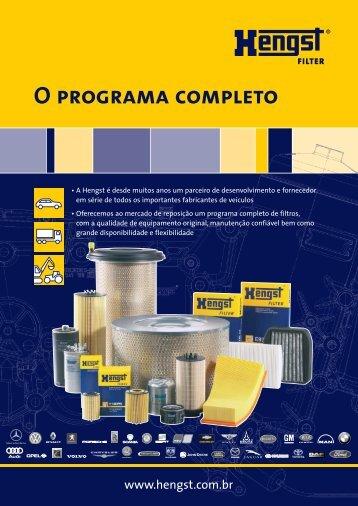 O programa completo