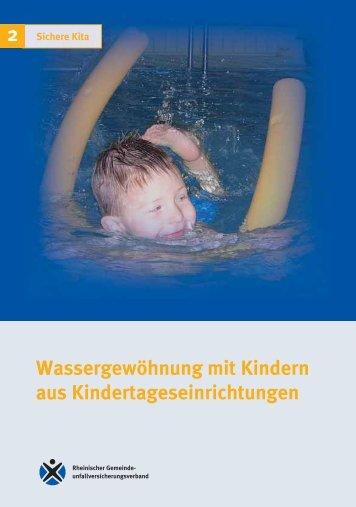 Wassergewöhnung mit Kindern aus ... - Sichere Kita
