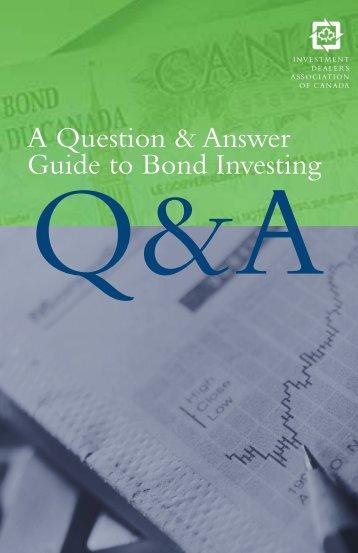 bonds - InvestisseurAutonome